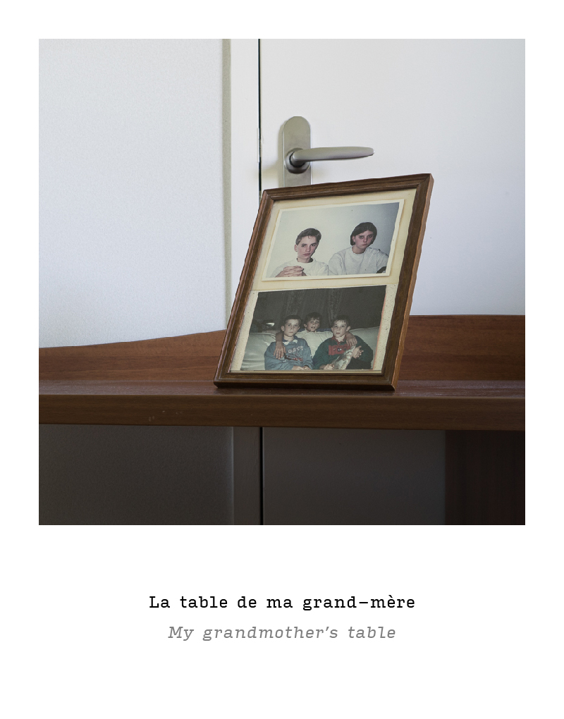 My grandmother's table
